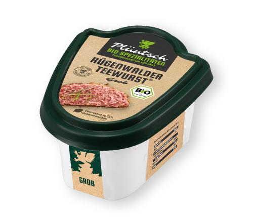 Plüntsch Bio Rügenwalder Teewurst® grob