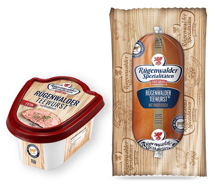 Rügenwalder Teewurst® mit Rindfleisch fein