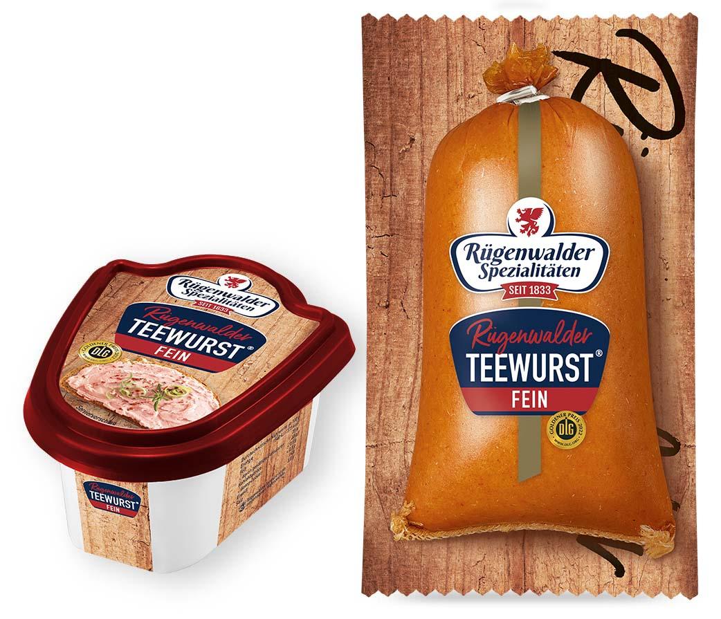 Rügenwalder Teewurst® fein