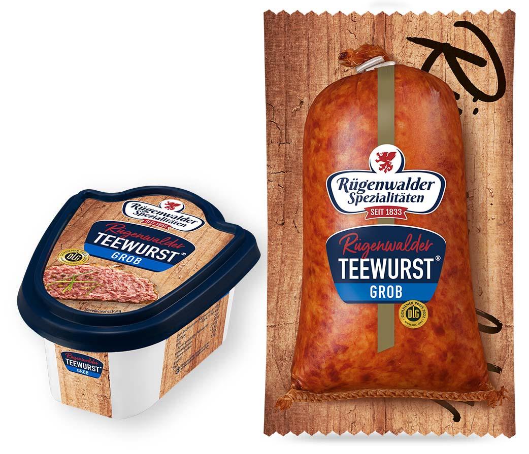 Rügenwalder Teewurst® grob